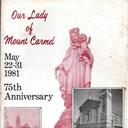 Our Lady of Mount Carmel 75th Anniversary Album May 1981 photo album thumbnail 1